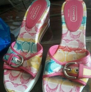 New coach summer shoes